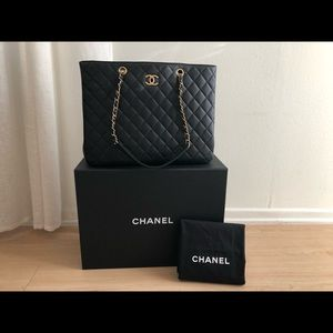 CHANEL Bags - CHANEL large shopping bag